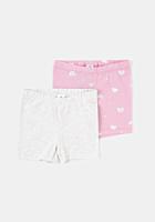 Set 2 pantaloni scurti bebe 6luni/4 ani