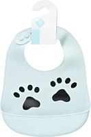 Baveta bleu silicon Tex Baby