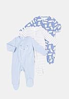 Set 3 salopete TEX nou nascut 0/12 luni