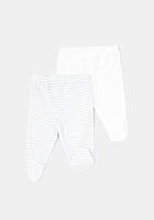 Set 2 pantaloni TEX nou nascut 0/9 luni