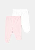 Set 2 pantaloni TEX nou nascut 0/9 luni 0/1 luni