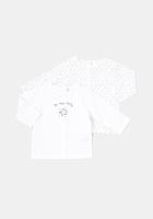 Set 2 tricouri Tex Baby nou nascut 0/9 luni