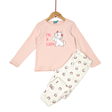 Pijama Disney fete 3/8 ani