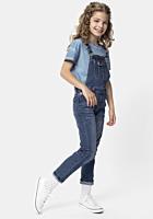 Salopeta jeans TEX fete 3/14 ani