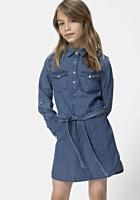 Rochie jeans TEX fete 3/14 ani