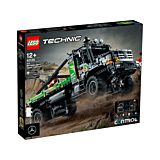 LEGO Technic Camion de testari 4x4 Mercedes-Benz Zetros controlat de aplicatie 42129