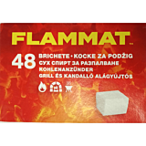 Cuburi pentru aprins focul, 48 bucati, Flamax Flammat tu