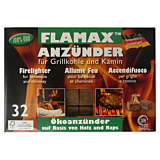 Cuburi pentru aprins focul ecologic, 32 bucati, Flamax Flammat tu