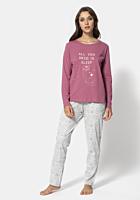 Pijama TEX dama S/XXL L