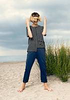 Pantaloni Relaxed Fit cu buzunare, Irina Schrotter x TEX