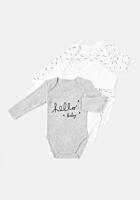 Set 3 body-uri bebe 6/36 luni