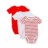 Set 3 body Tex baby maneca scurta 3/36 luni