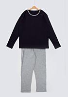Pijama mânecă lungă și pantaloni lungi bărbați s/xxl