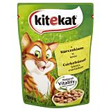 Hrana umeda completa pentru pisici adulte cu pui in sos suculent Kitekat 100g