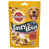 Hrana complementara cu aroma de vita si pasare pentru caini adulti Pedigree Tasty Minis 155g