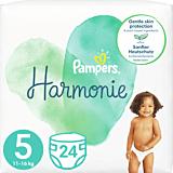 Scutece Pampers Harmonie Marimea 5, 11-16 kg, 24 bucati