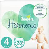 Scutece Pampers Harmonie Marimea 4, 9-14 kg, 28 bucati