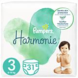 Scutece Pampers Harmonie Marimea 3, 6-10 kg, 31 bucati