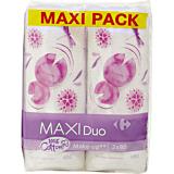 Dischete demachiante in forma ovala, Maxi Carrefour 2x80buc