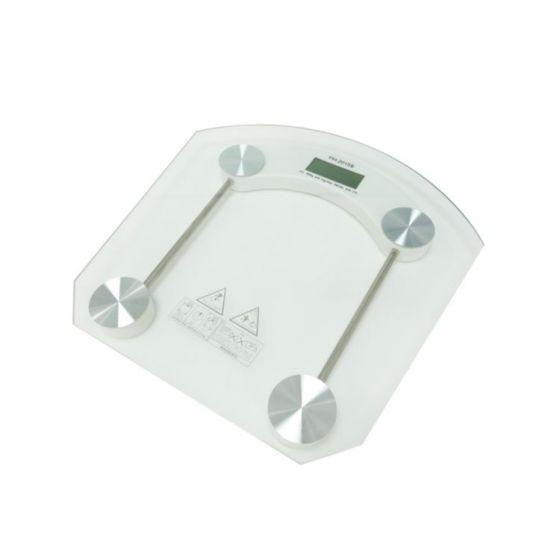 Cantar inteligent de persoane ECG OV 126, 150 Kg, ultra subtire, sticla 6 mm