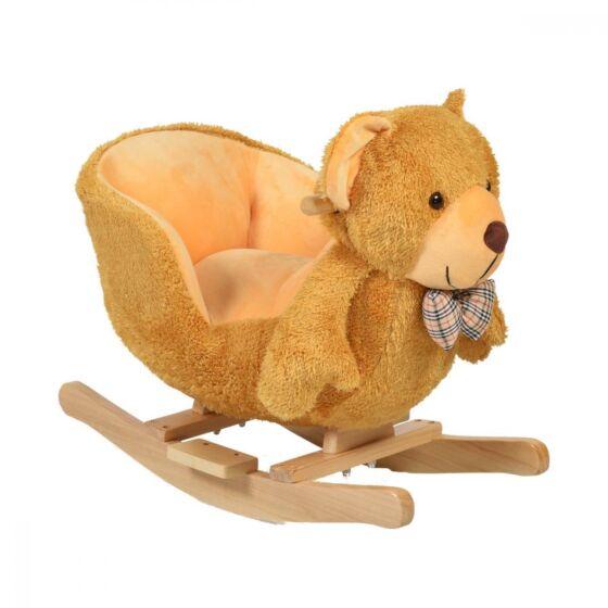 Balansoar Pentru Copii Bear Beige Cu Sunete Carrefour Romania