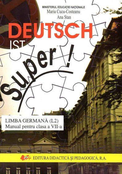 Materiile scolare in germana