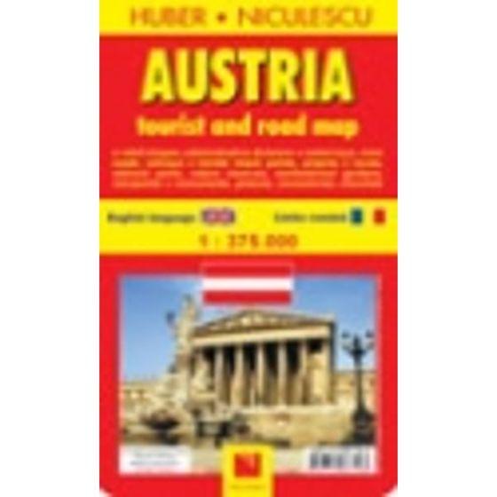 Carrefour Romania Austria Harta Turistica Si Rutiera