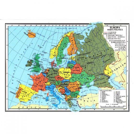 Carrefour Romania Harta Europa Fizica Europa Politica